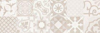 Creto (Dover) СCG20D17200B Вставка Dover Patchwork Ivory W\DEC M 25х75 NR Satin 1