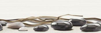 Уралкерамика (Alma Ceramica) Ailand Декор настенный (200х600х8) камни с веточкой DWU11ALD004