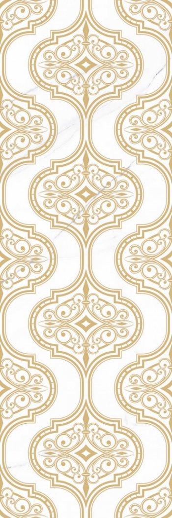 Уралкерамика (Alma Ceramica) Antares Декор настенный (246х740х10) орнамент DWU12ANS88R