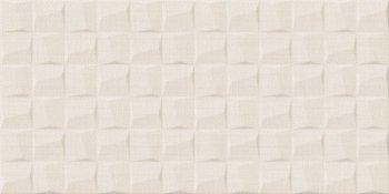 Уралкерамика (Alma Ceramica) Asteria Плитка настенная (249х500х8.5) кремовая.рельеф TWU09ATR004