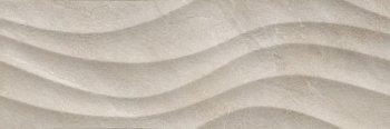 Уралкерамика (Alma Ceramica) Teira Плитка настенная (246х740х10) Rialto бежевая. волна TWU12RLT14R