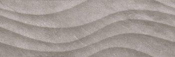 Уралкерамика (Alma Ceramica) Rialto Плитка настенная (246х740х10) серая волна TWU12RLT17R
