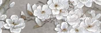 Уралкерамика (Alma Ceramica) Декор настенный (200х600х8) Poli цветы DWU11POL007