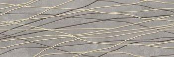 Уралкерамика (Alma Ceramica) Декор настенный (200х600х8) Greys серый полоски DWU11GRS704