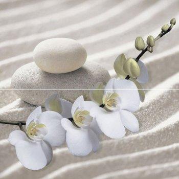 Уралкерамика (Alma Ceramica) Декор панно настенный (498х500х7,5) Relax  (компл-2 шт) PWU09RLX1
