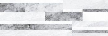 Laparet Royal Плитка настенная микс серый 60086 20х60