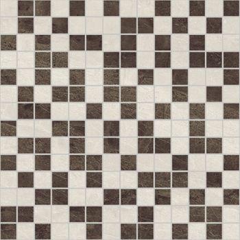 Laparet Crystal Мозаика коричневый+бежевый 30х30