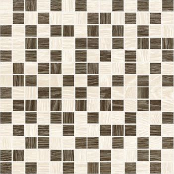 Laparet Genesis Мозаика коричневый+бежевый 30х30