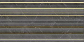 Laparet Olimpus Race Декор чёрный 25х50