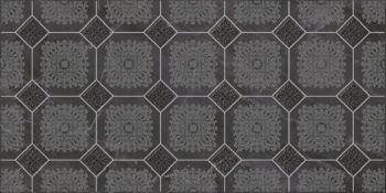Laparet Olimpus Grand Декор чёрный 25х50