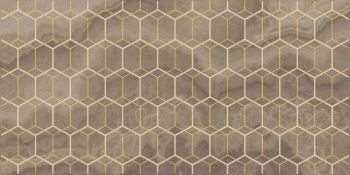 Laparet Prime Декор коричневый 25х50