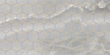 Laparet Prime Декор серый 25х50