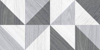 Laparet Village Плитка настенная серый микс 34006 25х50