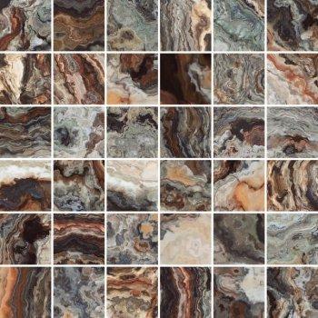 Laparet (Brouni) Brouni Мозаика коричневый 30х30