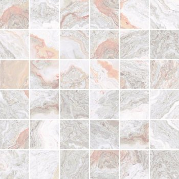 Laparet (Gray) Gray Мозаика светлый 30х30