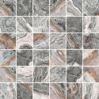 Laparet (Gray) Gray Мозаика серый 30х30