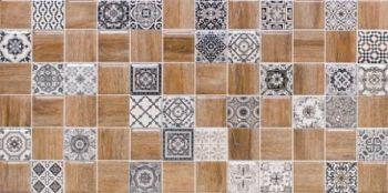 LВ-ceramics (Astrid) Плитка облицовочная. Астрид декор коричневый 1041-0242  20*40
