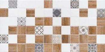 LВ-ceramics (Astrid) Плитка облицовочная. Астрид декор белый 1041-0239  20*40