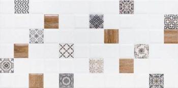 LВ-ceramics (Astrid) Плитка облицовочная. Астрид декор белый 1041-0238  20*40