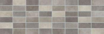 LВ-ceramics (Fiori Grigio) Плитка облицовочная. Фиори Гриджо панно мозаика темно-серый 1064-0103  60*20
