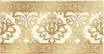 LВ-ceramics (Катар) Бордюр керамический. Катар Белый 1502-0610  25*13
