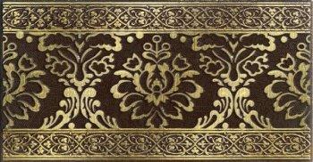 LВ-ceramics (Катар) Бордюр Катар Коричневый  1502-0574 25*13