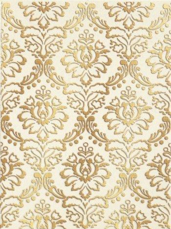 LВ-ceramics (Катар) Декор керамический. Катар Белый 1634-0090  33*25