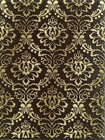 LВ-ceramics (Катар) Декор керамический. Катар Коричневый 1634-0091  33*25