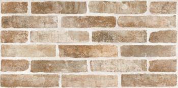LВ-ceramics (Брикстори) Плитка грес глазурованный Брикстори кирпич коричневый 6060-0244  60*30
