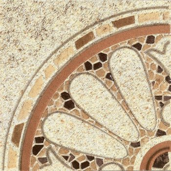 LВ-ceramics Декор Тенерифе Бежевый 3602-0005  14*14