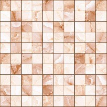 LВ-ceramics Плитка грес глазурованная мозаика Орнелла Коричневый 5032-0201  30*30
